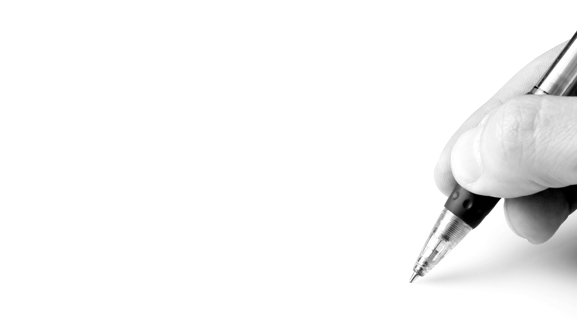 Writer3a_writing_BnW