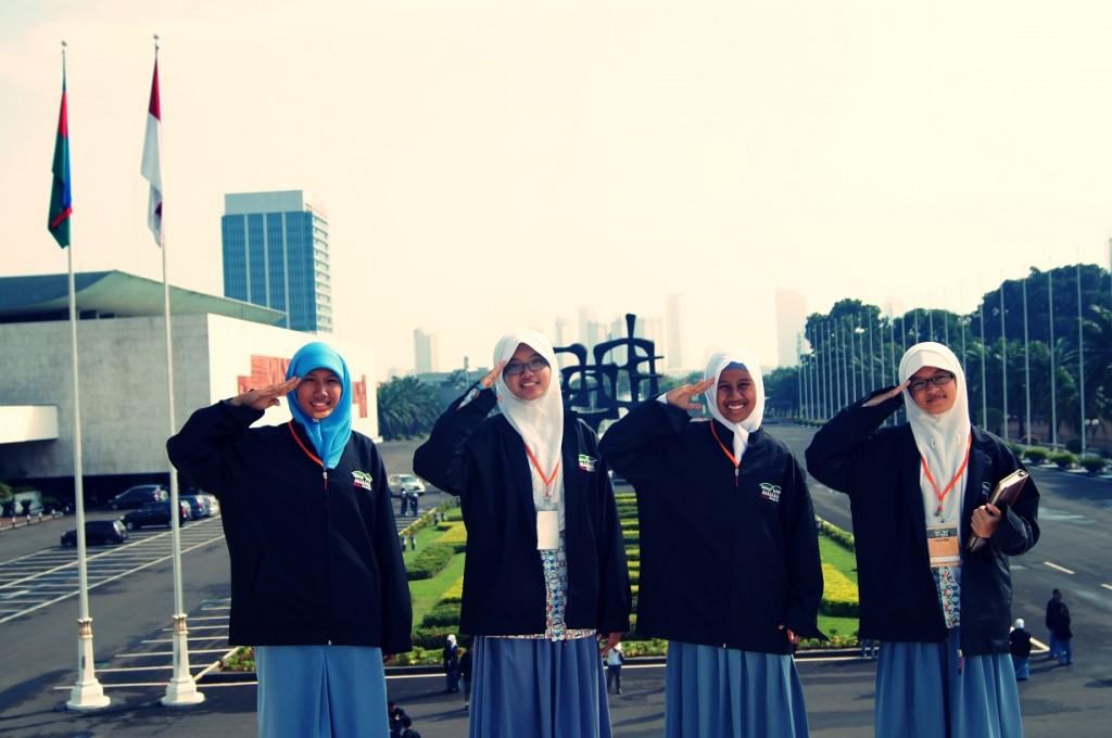SMA Al-Muttaqin Parlemen Remaja