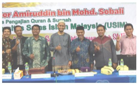 ALMUTTAQIN Undang Ilmuwan Malaysia,  Bedah Wawasan Sains Quran