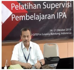 Kepala SMA Al Muttaqin Diundang SEAMEO Training Course  On Science Classroom Supervision